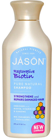 Jason Natural Biotin Shampoo Hair Fortifying