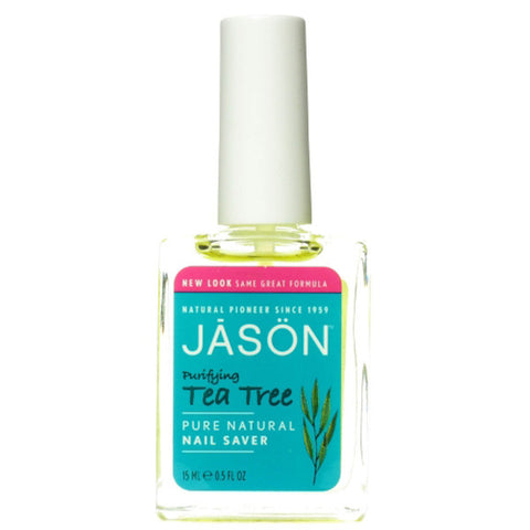 Jason Natural Tea Tree Nail Saver