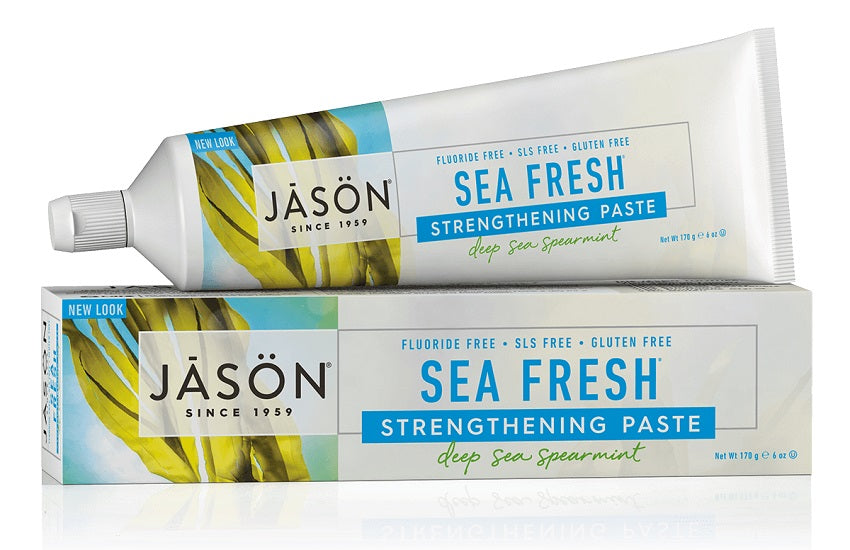Jason Natural Sea Fresh Plus CoQ10 Gel Toothpaste