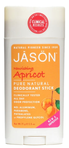 Jason Natural Apricot Deodorant Stick