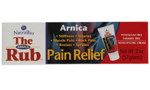 Natra-Bio Arnica Cream The Rub