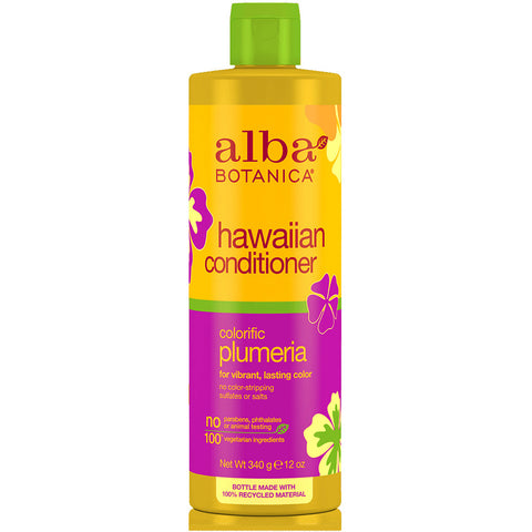 Alba Botanica - Natural Hawaiian Conditioner Colorific Plumeria - 12 oz. (340 g)