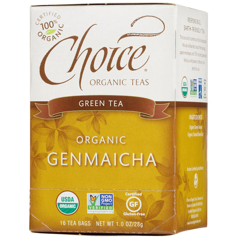 Choice Organic Teas Green Tea with Toasted Brown Rice