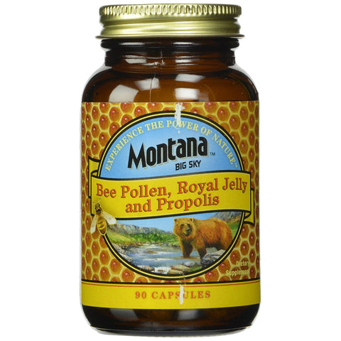 MONTANA - Bee Pollen, Royal Jelly and Propolis