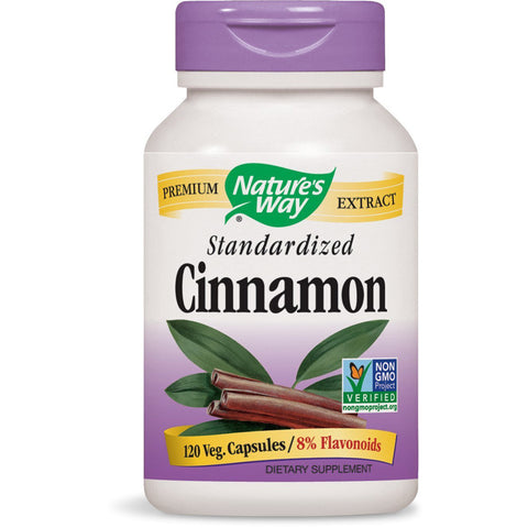 Natures Way Cinnamon Standardized
