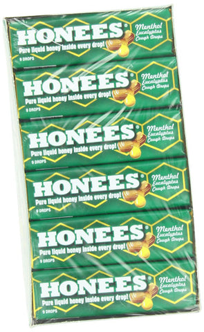 HONEES - Liquid Honey Menthol Euclayptus Drops