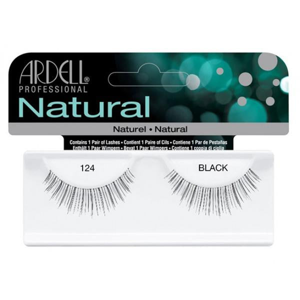 ARDELL - Natural Lashes #124 Black