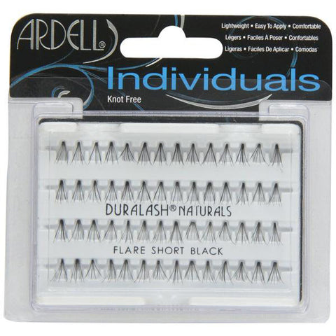 ARDELL - Individuals DuraLash Naturals Flare Lashes Short Black