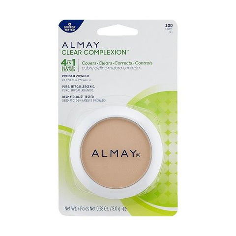 ALMAY - Clear Complexion Pressed Powder Light 100