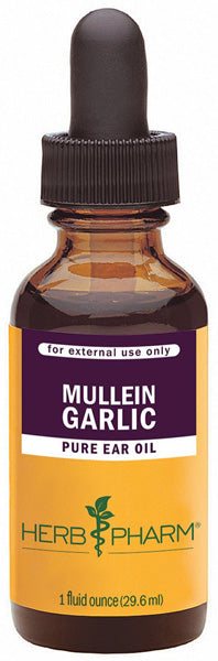 HERB PHARM - Mullein/Garlic Herbal Ear Drop Oil