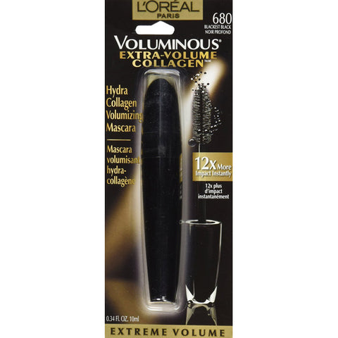 L'OREAL - Extra Volume Collagen Mascara 680 Blackest Black
