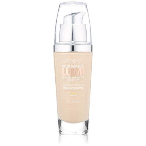 L'OREAL - True Match Lumi Makeup W1 Porcelain/Light Ivory