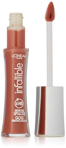 L'OREAL - Infallible 8HR Le Gloss 815 Barely Nude