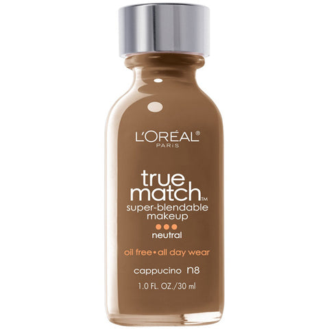 L'OREAL - True Match Super-Blendable Makeup N8 Cappuccino