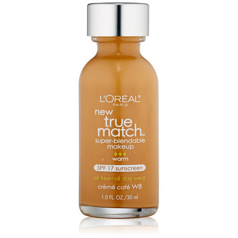 L'OREAL - True Match Super-Blendable Makeup W8 Creme Cafe