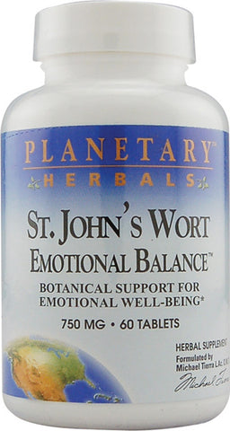 Planetary Herbals St Johns Wort Emotional Balance