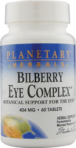 Planetary Herbals Bilberry Eye Complex