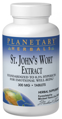 Planetary Herbals St Johns Wort Extract