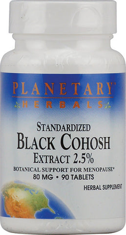 Planetary Herbals Black Cohosh Extract 2 5 Standardized