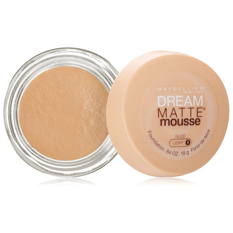 MAYBELLINE - Dream Matte Mousse Foundation Nude Light 4