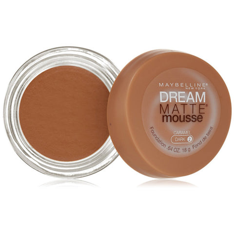 MAYBELLINE - Dream Matte Mousse Foundation 120 Caramel Dark