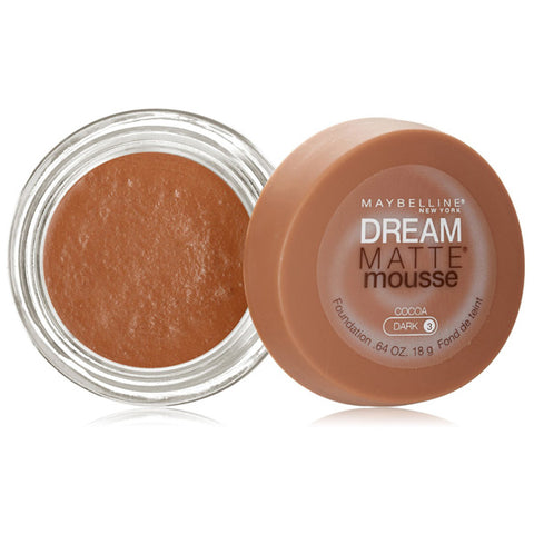 MAYBELLINE - Dream Matte Mousse Foundation 130 Cocoa/Dark 3
