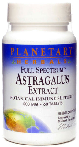 Planetary Herbals Astragalus Extract Full Spectrum
