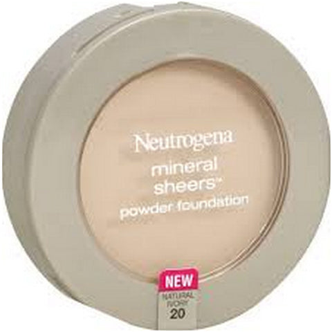 NEUTROGENA - Mineral Sheers Powder Foundation #20 Natural Ivory