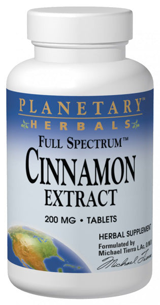 Planetary Herbals Cinnamon Extract Full Spectrum