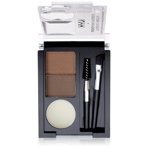 NYX - Eyebrow Cake Powder Dark Brown/Brown