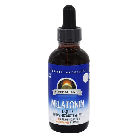 SOURCE NATURALS - Sleep Science Melatonin Orange Liquid