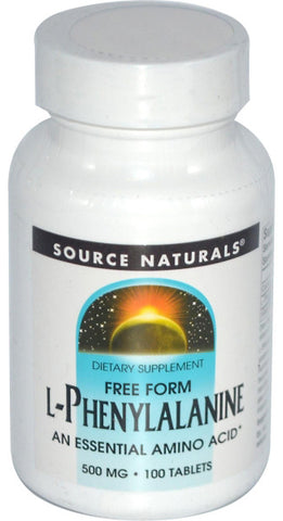 Source Naturals L Phenylalanine