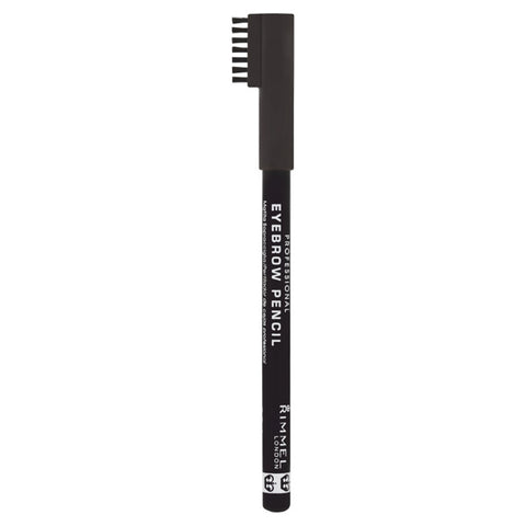 RIMMEL - Professional Eyebrow Pencil #004 Black Brown