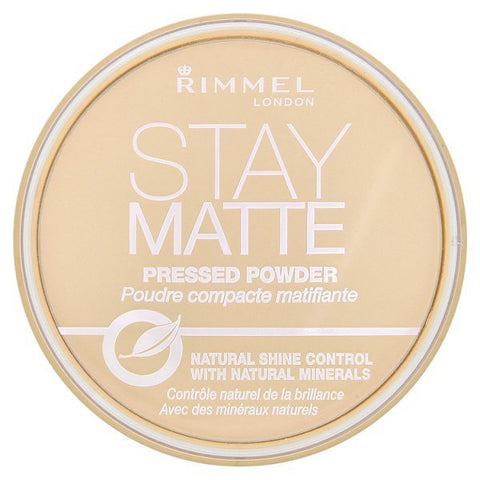 RIMMEL - Stay Matte Pressed Powder #001 Transparent