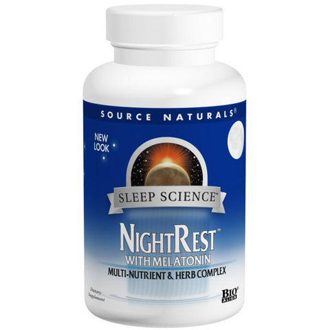 SOURCE NATURALS - Sleep Science NightRest with Melatonin