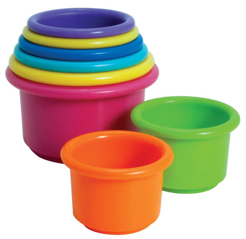 THE FIRST YEARS - Stacking Up Cups Baby Toy