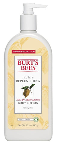 BURT'S BEES - Cocoa and Cupuacu Butters Body Lotion
