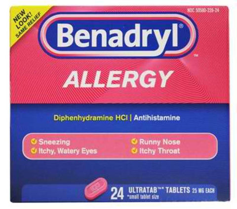 BENADRYL- Allergy Ultratab Tablets