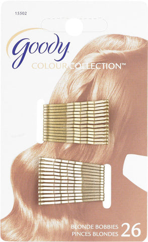 GOODY - Colour Collection Bobby Pin Small Metallic Blonde