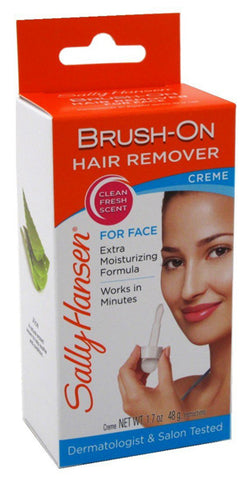 SALLY HANSEN - Brush-On Hair Remover Creme For Face