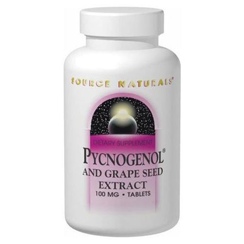 Source Naturals Pycnogenol and Grape Seed Extract