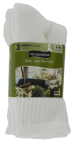 NO NONSENSE - Women's Ahh Said the Foot Cushioned Crew
