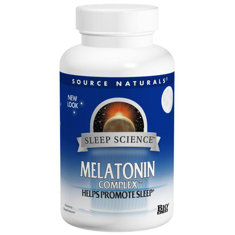 SOURCE NATURALS - Sleep Science Melatonin Complex 3 mg Orange Lozenge