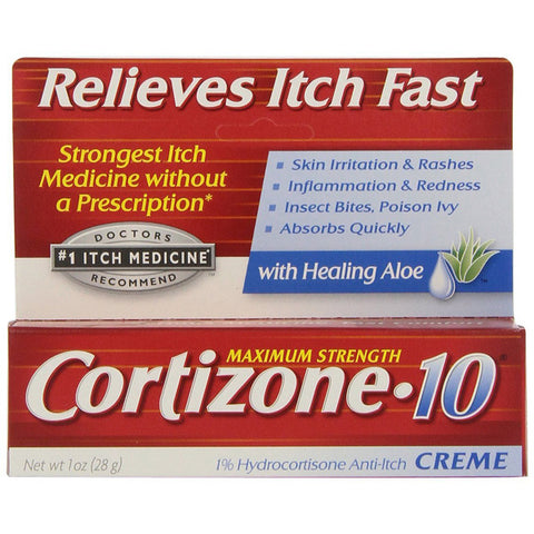 CORTIZONE-10 - 1% Hydrocortisone Anti-Itch Cream