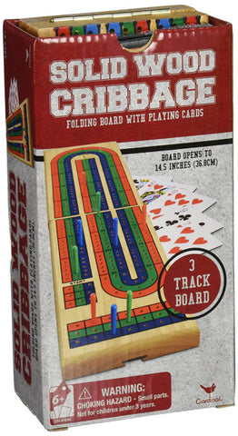 CARDINAL INDUSTRIES - Solid Wood Folding Cribbage
