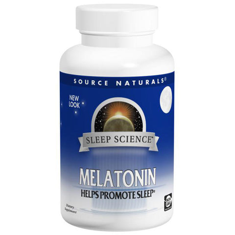 Source Naturals Melatonin 1mg Sublingual Peppermint