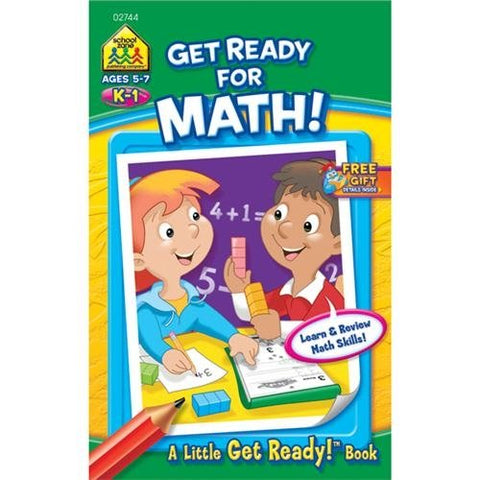 SCHOOL ZONE - Get Ready for Math Workbook
