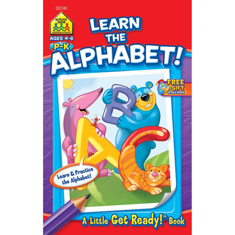 SCHOOL ZONE - My First Little Busy Book-Learn The Alphabet
