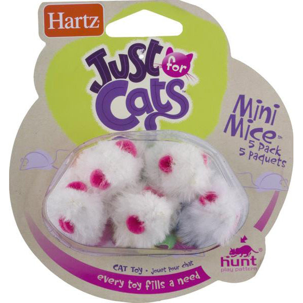 HARTZ - Just for Cats Mini Mice Cat Toy