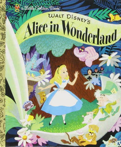 GOLDEN BOOKS - Walt Disney's Alice in Wonderland